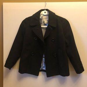 Kids Cherokee Pea Coat Black size 7/8